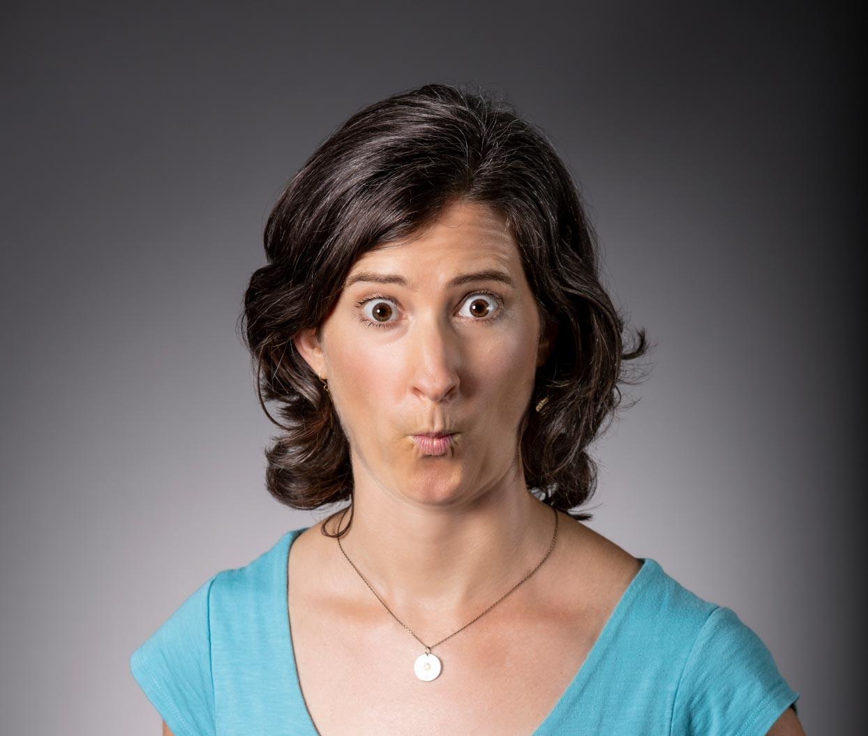 Julia Scott silly headshot